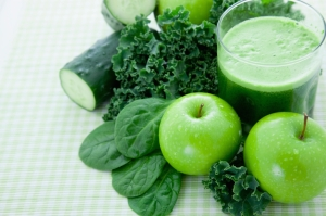 Green smoothie pic
